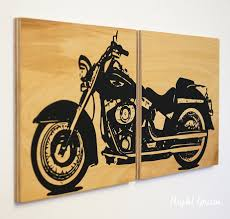 harley davidson wall art 53 best motorcycle and auto decor images on