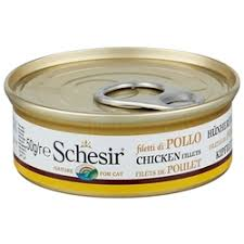 «<b>Консервы Schesir Nature for</b> Cat Chicken Fillets & Rice Natural ...