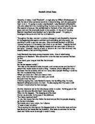 literary essay on macbeth a look at macbeth tragic hero english literature essay uk essays