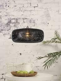 Hanglamp Palawanits About Romi Bamboe Hanglamp Palawan 1lichtszwart