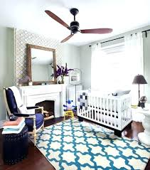 baby room ceiling fan nursery in contemporary with area rug blue small safe should a babys baby room ceiling fan