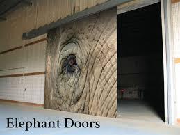 sliding acoustical doors elephant doors
