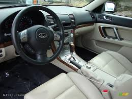 Warm Ivory Interior 2009 Subaru Legacy 3.0R Limited Photo ...