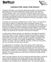 sample analysis essay examples in word pdf character analysis essay