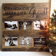 Homemade Christmas Gifts For Grandparents Photo Frame  Homemade Best Gift For Grandparents Christmas