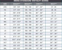 Womens Life Vest Size Chart 61 Curious Oneill Wetsuit Sizing Chart Women