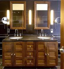 Image Bathroom Vanity Lushome Modern Bathroom Design Clever Lighting Design