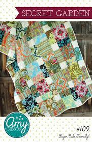 garden quilt. Secret Garden Quilt Pattern