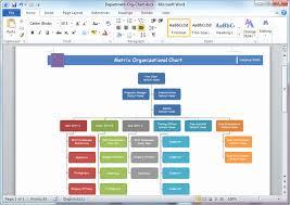 Word Org Chart Template Elegant Organizational Chart