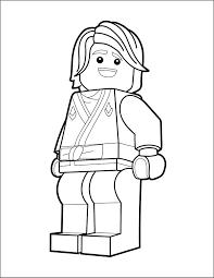 LEGO Ninjago Coloring Page - Lloyd - The Brick Show
