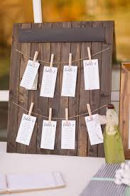 How To Make A Wedding Seating Chart Rustic Diy Seating Chart