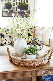 coffee table decorating ideas pictures captivating coffee table centerpiece ideas with spring coffee table decor see