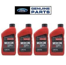 Details About For Oem Ford 4 Quarts Mercon Lv Automatic Transmission Fluids Genuine Xt 10 Qlvc