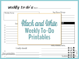 Free Printable Things To Do List Homeish Co