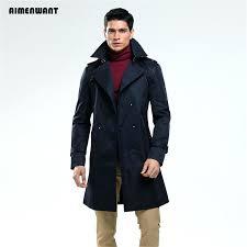 long mens pea coat trench coat size custom tailor double ted long pea coat trench slim long mens pea coat