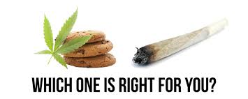 what is better edibles or smoking