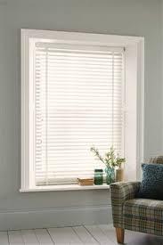white wide slat venetian blinds from the next uk