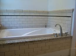 image of simple mobile home bathtub faucet