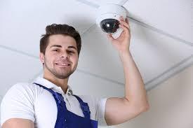 security installation. alarm and cctv installation security