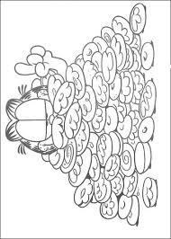 Veel Koekjes Voor Garfield Kleurplaat Gratis Kleurplaten Printen