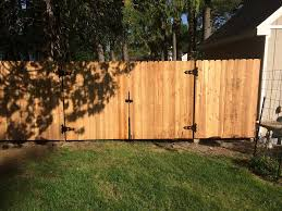 black vinyl privacy fence. Black Aluminum Fencing And White Vinyl Privacy Installations Fence A