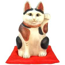 asian cat statue cat animal sculptures clay cats garden state plaza map