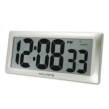 13 5 large digital indoor wall clock