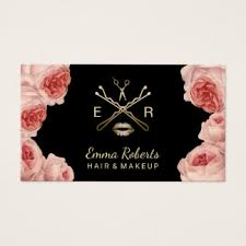 makeup business cards designs makeup artist business cards zazzle