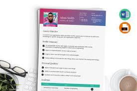 Fresher Resume Template Word Ai