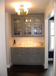 charming built in kitchen hutch ideas grey painted wood kitchen cabinet buffet gold metal shade chandelier