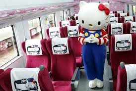 All Adorb! Take the New Hello KittyThemed Train in Taiwan - Cond Nast  Traveler