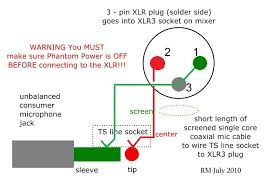 microphone wiring 3 pin wiring diagram site how to wire an unbalanced microphone to a balanced xlr input microphone adapter microphone wiring 3 pin