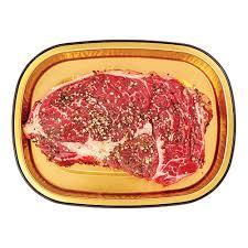 beef ribeye steak with ed pepper seasoning