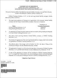 Oklahoma Llc Operating Agreement Template Free Oklahoma Llc ...