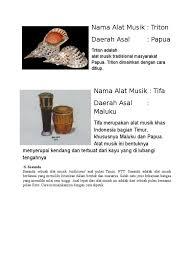 Kerang biasanya dimanfaatkan untuk hiasan. Shakuhachi Merupakan Alat Musik Tradisional Jepang Yang Berbentuk Seruling