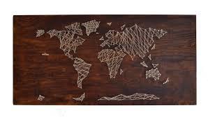 the crafty novice diy string art world map regarding most popular string map wall on diy string map wall art with photo gallery of string map wall art showing 10 of 20 photos