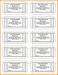 doc printable ticket templates printable event raffle ticket templates printable ticket templates