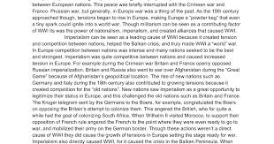 world war i essay intro nationalism imperialism google docs