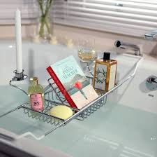 taymor chrome indulgence bathtub caddy ideas