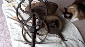 antique blacksmith tools. antique blacksmith tools restoration: rivet forge restoration - youtube