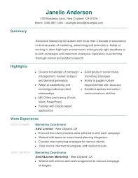 Social Media Resume Example Resume Sample Marketing Social Media Resume Template Social Media