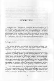 Initiation Au Tachelhit