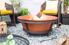 brushed copper cast iron fire pit bgacicopfp 1 cast iron fire pit n98