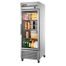 Glass Refrigerator T 23g Ld 1 Glass Door Bottom Mount Reach In Refrigerator 23 Cu Ft