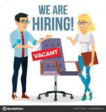 Employee Office Recruitment Process Vector Human Resources Choice Of Candidate