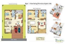 east facing duplex house plans arts floor pla planskill 11 fancy plush design 1200 sqft