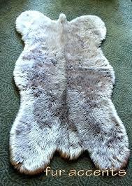 fake sheepskin rug gray faux fur rug fake sheepskin area bear skin accent faux sheepskin rug