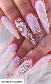 Best Coffin Nail Designs 2019 2019 Flashy Acrylic Nail Designs In Coffin Shape Of Summer