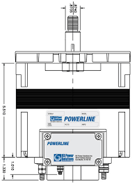 hdpsi powerline alternators powerline 24hd series alternator spindle mount specifications