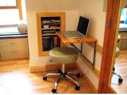 deep computer desk furniture blue regarding fold up decorations 7